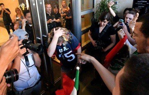 San Jose Protestors Bolster Trump's Narrative